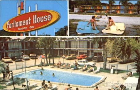 Parliament House Motor Inn, 410 North Orange Blossom Trial Orlando