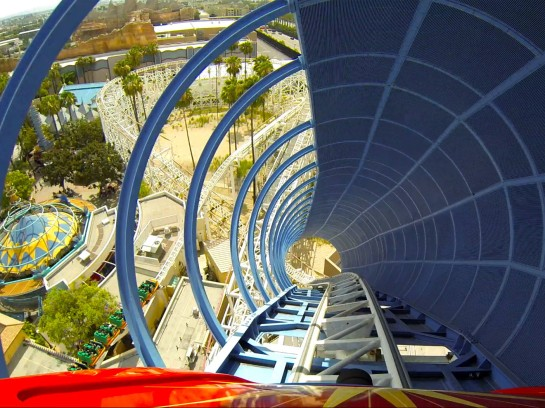 California Screamin Roller Coaster