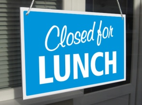 closed-for-lunch