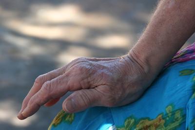 mom hand