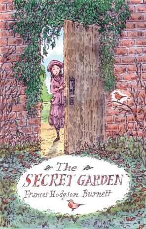 secret garden navelgazing writer