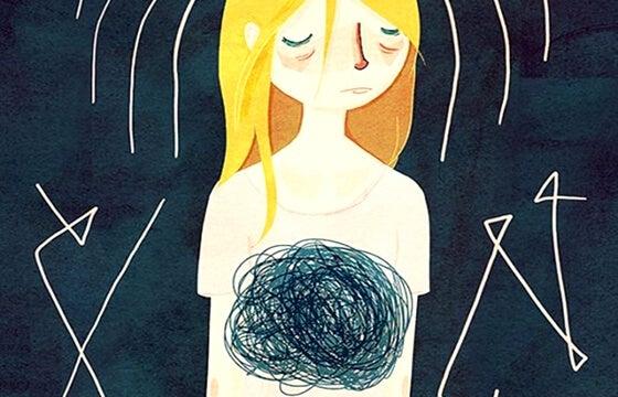 anxiety pain Navelgazing Writer