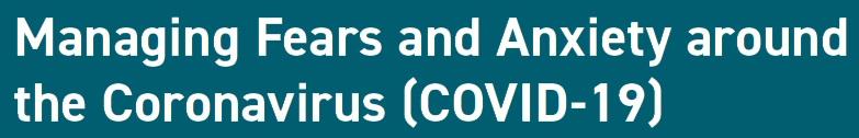 Anxiety COVID-19 Coronavirus Pandemic