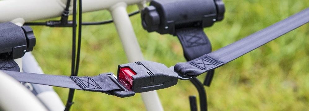 bike seat belt Navelgazing Writer