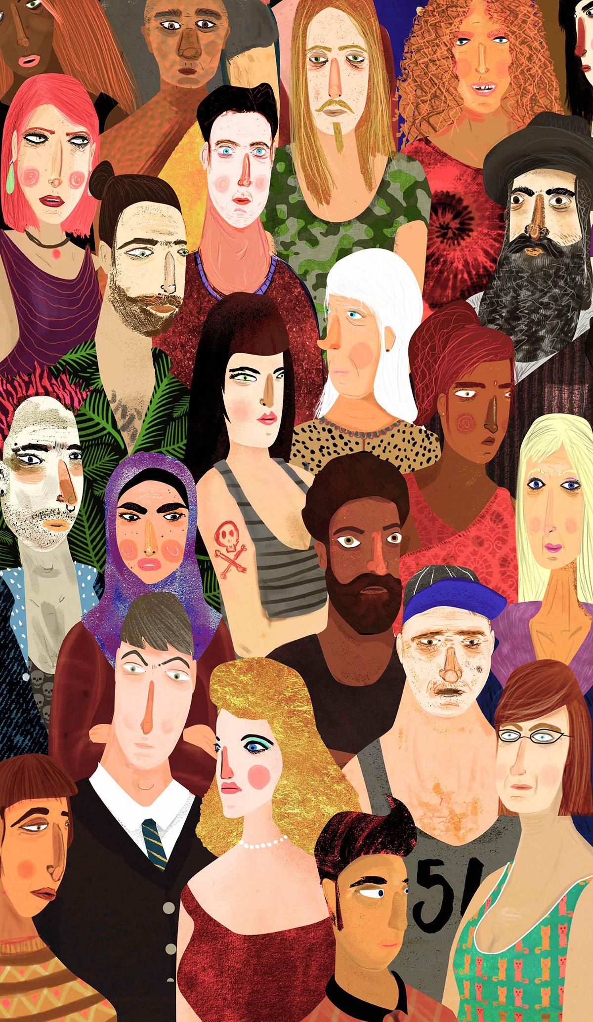 crowded Navelgazing Writer