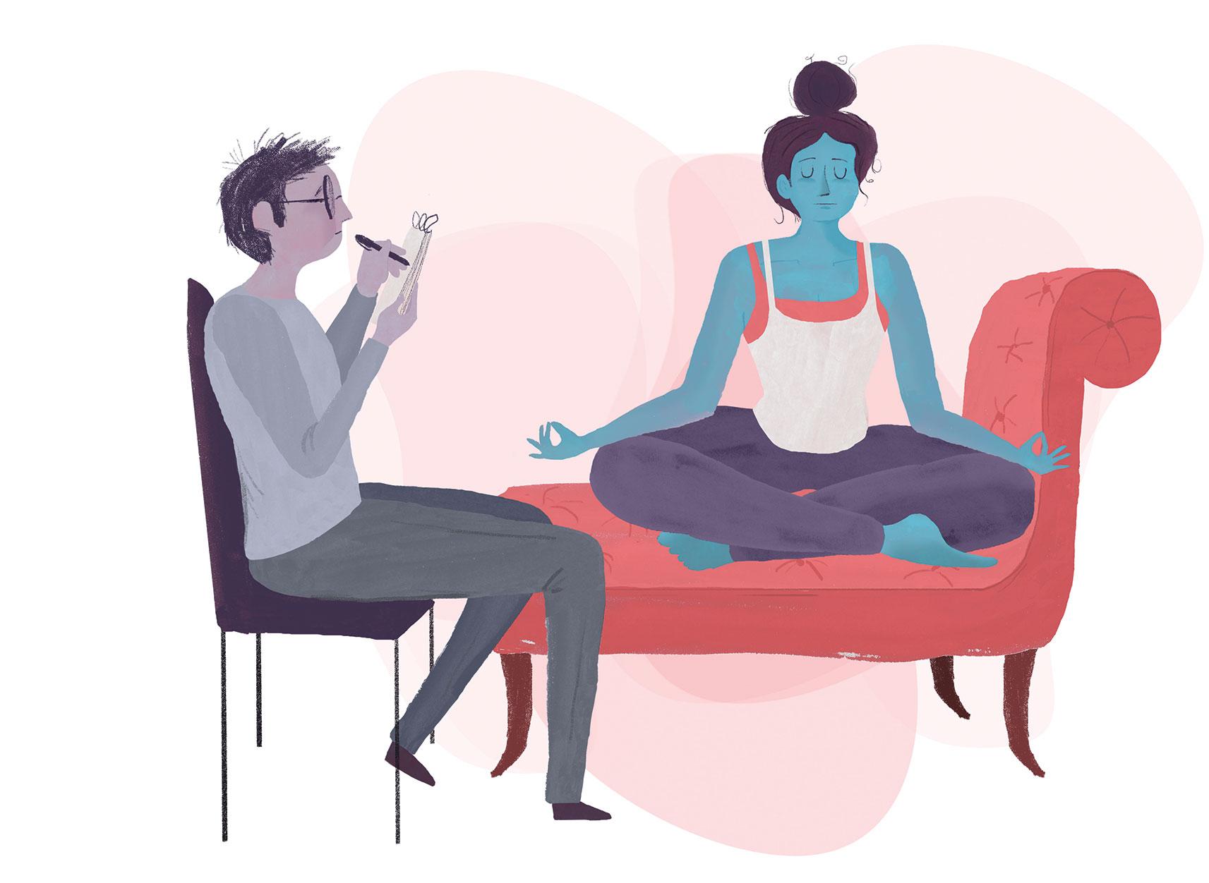Therapy Navelgazing Writer